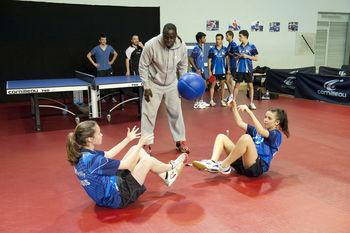 Centre d 39 entrainement levallois sporting club - Friendship tennis de table ...